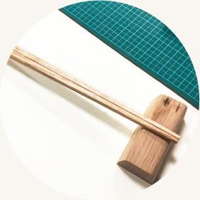 箸作り / Knock on wood