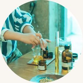 スキンクリーム・フレグランススプレー製作 / fragrance label yes